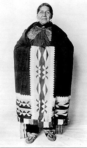 Delaware Tribe woman