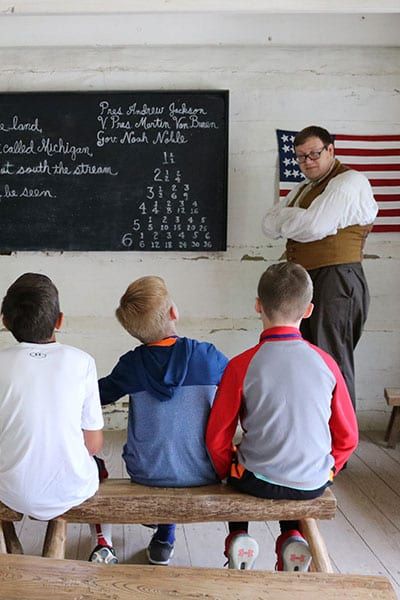 Prairietown classroom