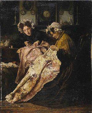 Alexander Hugo Bakker Korff The Seamstress (1880) The Saint Louis Art Museum