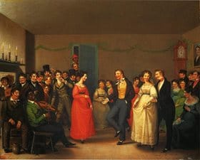 Rustic Dance After A Sleigh Ride (1830) William Sidney Mount, Museum Of Fine Arts Boston
