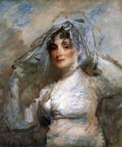 Sarah Wentworth Apthorp Morton By Gilbert Stuart