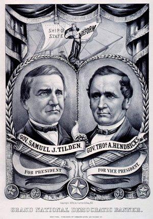 1876 Democratic Poster