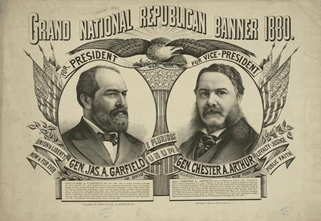 1880 Republican Poster