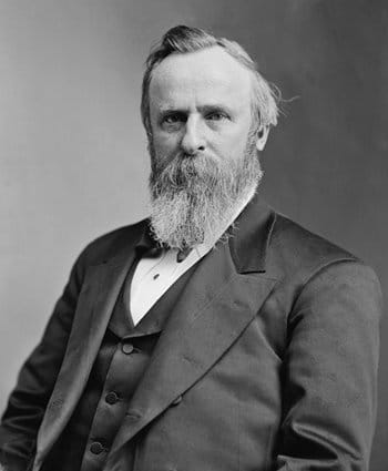 President Rutherford Hayes 1870 - 1880 Restored