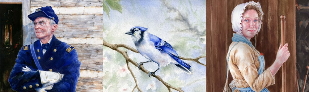 Teresa Altemeyer - History And Watercolor