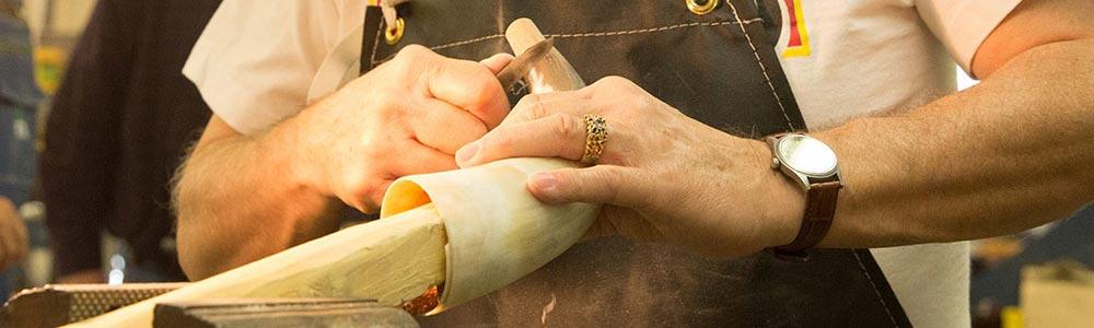 Traditional Arts & Arms Workshops: Basic Hornwork