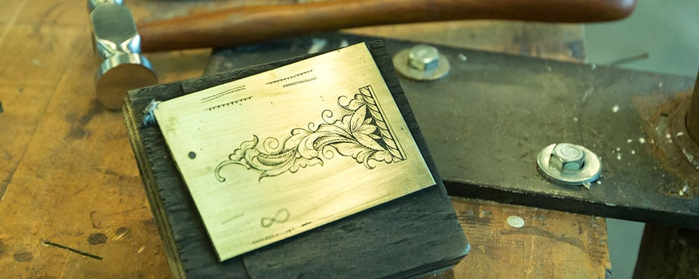 Traditional Arts & Arms Making Workshops: Engraving