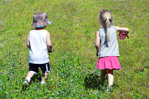 Playtime on the Prairie