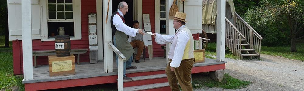 Postman comes to Prairietown