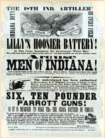 Lilly Civil War Poster