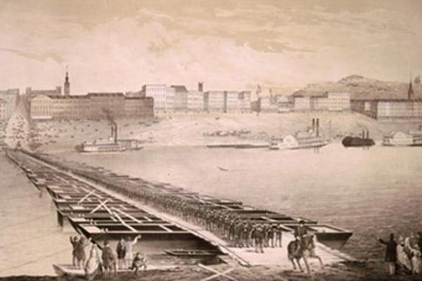 Cincinnati Pontoon Bridge