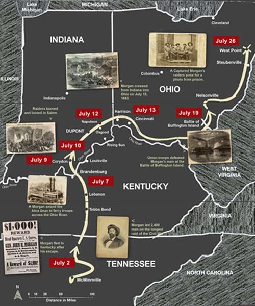 Morgan's route