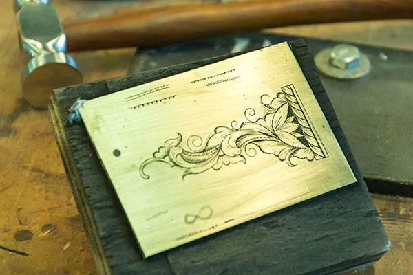 Traditional Arts & Arms Workshops: Engraving