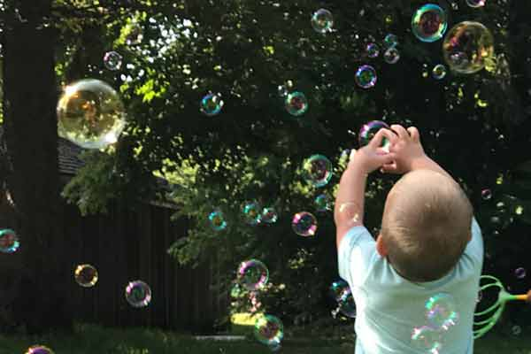 Playtime on the Prairie: Bubble Science