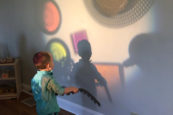 Playtime on the Prairie: Shadows