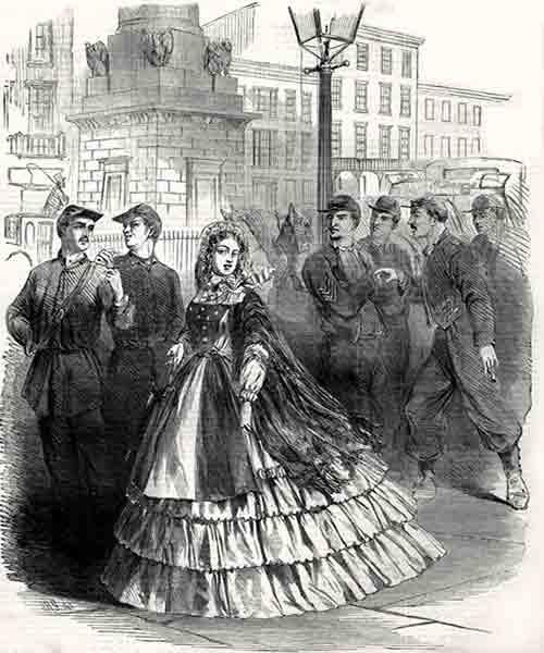 Civil War Southern belle