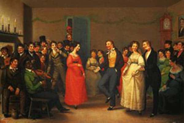 Rustic Dance After a Sleigh Ride - 1830 - William Sidney, Mount Museum of Fine Arts Boston