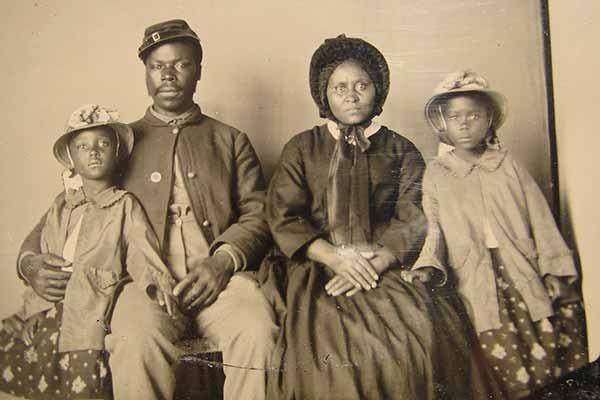 Civil War Family