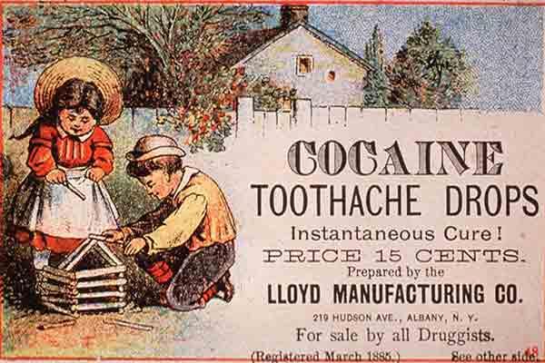 cocaine toothdrops