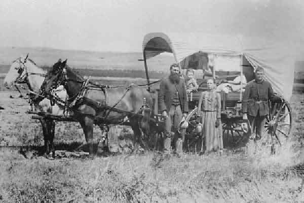 Homesteader 1866