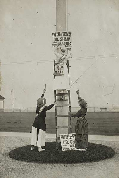 Womens Suffrage campaign