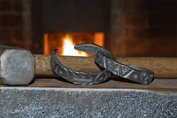 Prairie Pursuits: Blacksmithing - Iron and Copper Bracelets