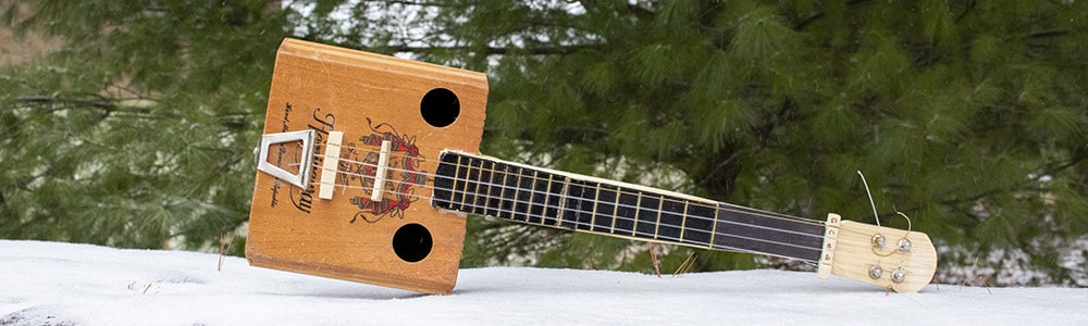 Prairie Pursuits: Cigar Box Banjo