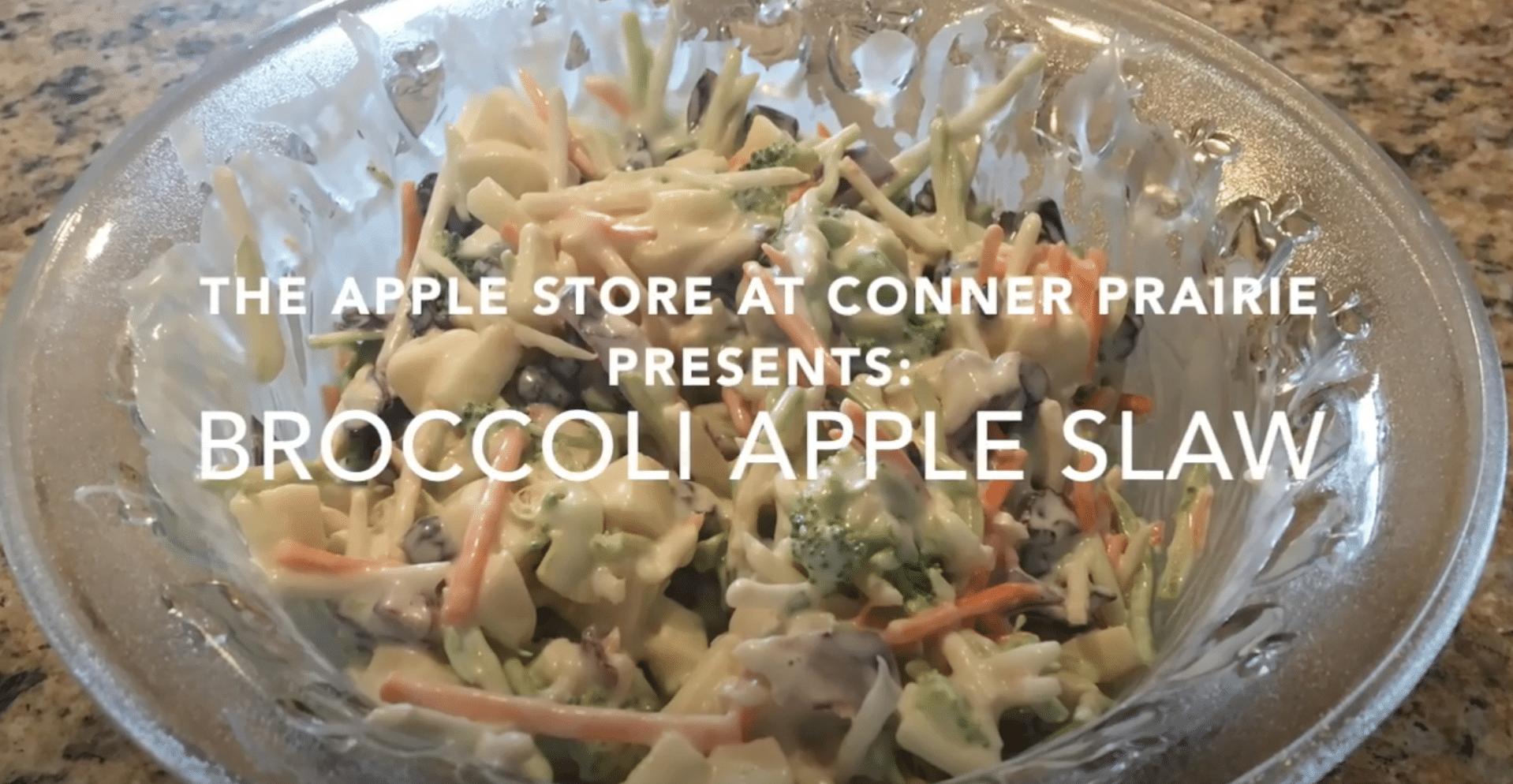 Broccoli Apple Slaw