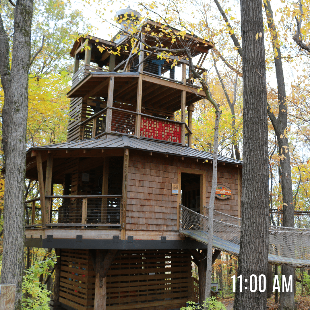 Treetop Outpost at Conner Prairie