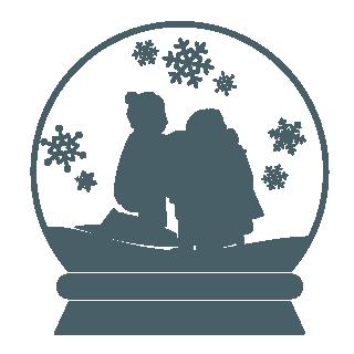 A Merry Prairie Holiday Snowglobe