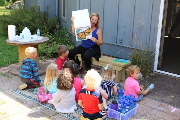 Storytime at Preschool on the Prairie