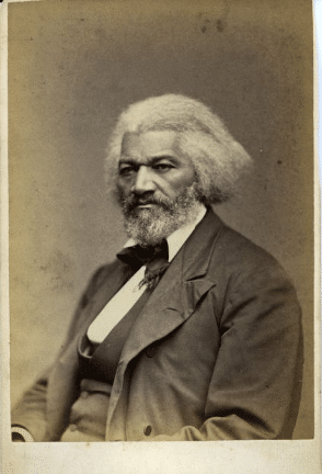 Frederick Douglass, an African American abolitionist, author, and orator.