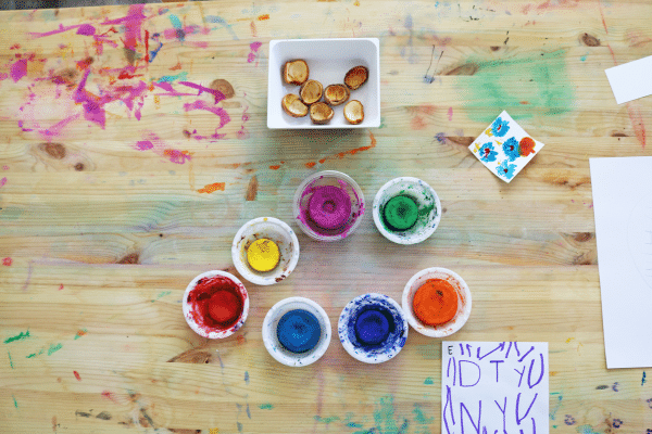 Paint to the Beat art activity