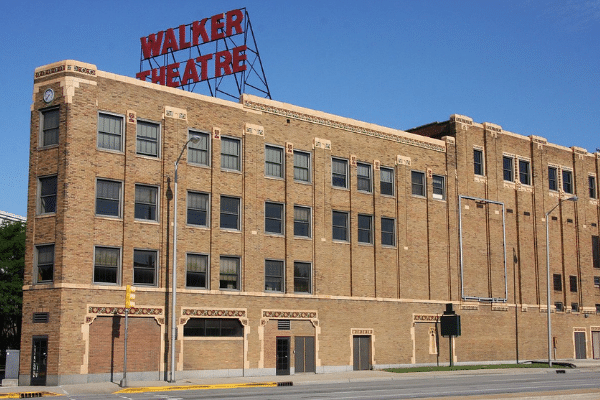 a National Historic Landmark, the Madam C.J. Walker Building still stands in downtown Indianapolis on Indiana Avenue.