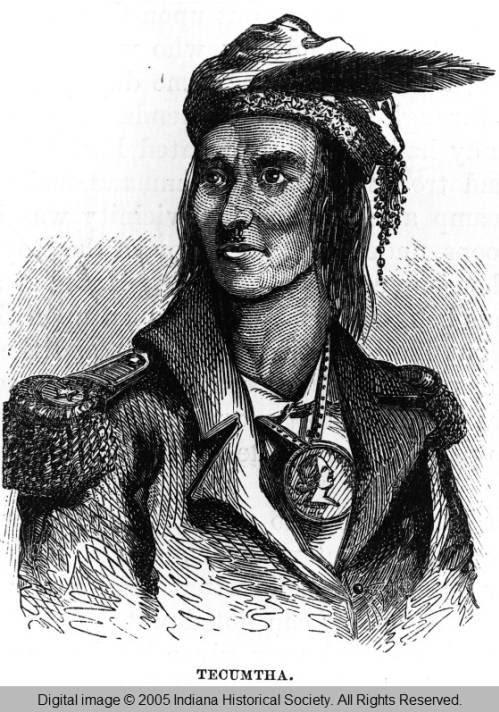Portrait of Tecumtha