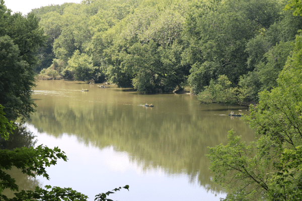 White River in Indianapolis