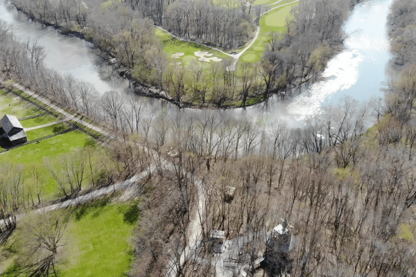 White River at Conner Prairie