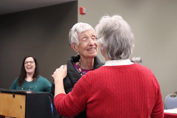 Guests enjoying Memory Cafe at Conner Prairie