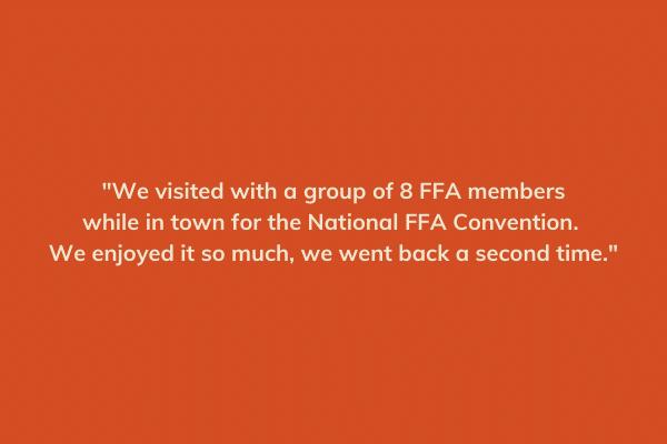 FFA Testimonial