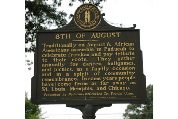 8th of August Historical Marker
