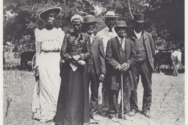 Emancipation Day Celebration in 1900