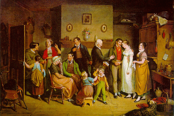 1820 Country Wedding by John Lewis Krimmel painting