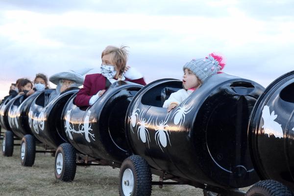 Barrel Train Rides