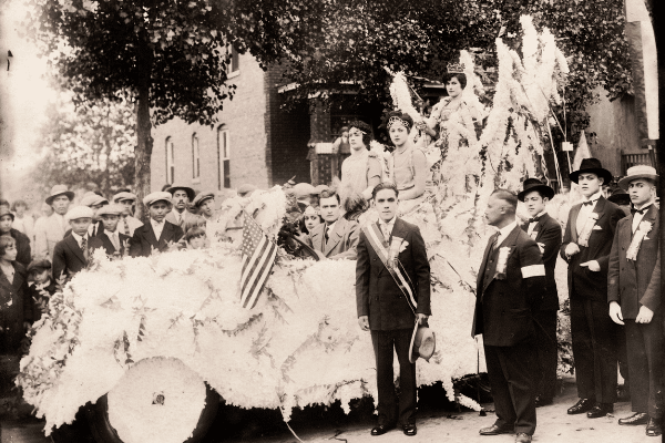 Historical Photo of Parade, 1926