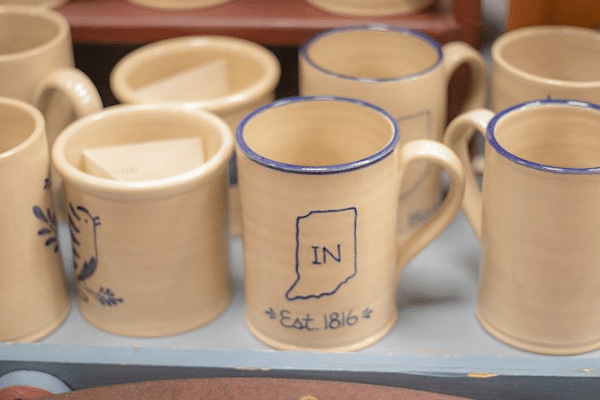 Coffee Mug with design of Indiana on it