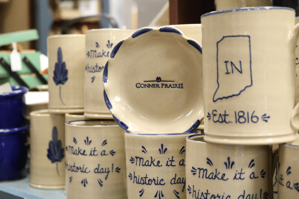 Indiana Themed Coffee Mug