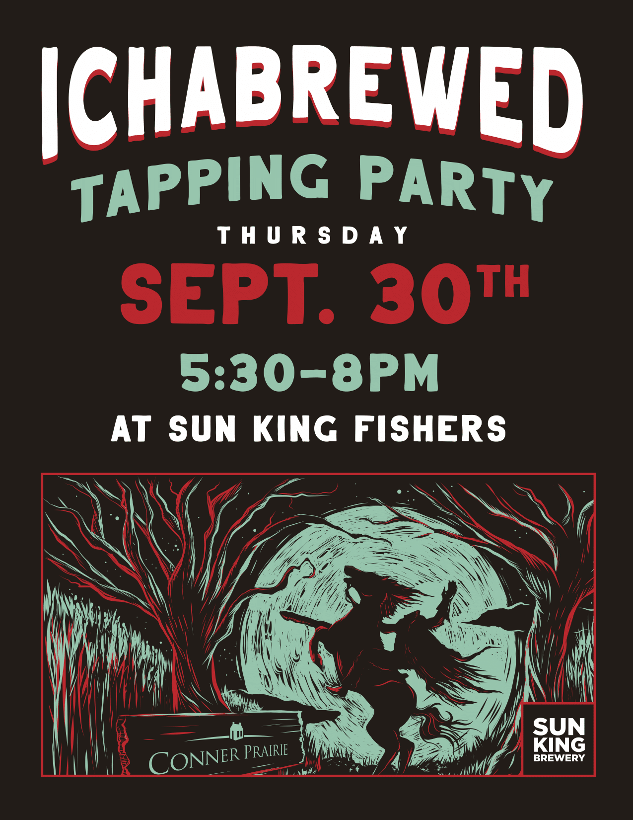 Ichabrewed Tapping Party