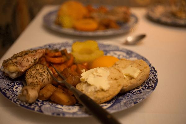 Hearthside Supper Meal