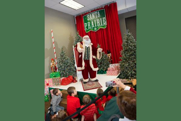 Santa Telling Stories