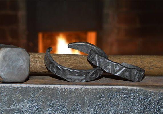 Prairie Pursuits: Blacksmithing - Iron and Copper Bracelets